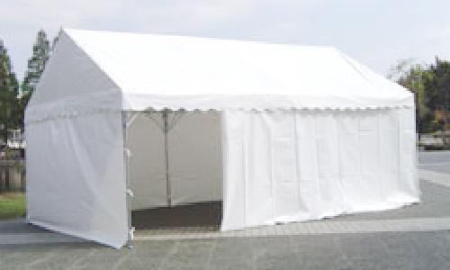 テント用垂れ幕使用イメージ1